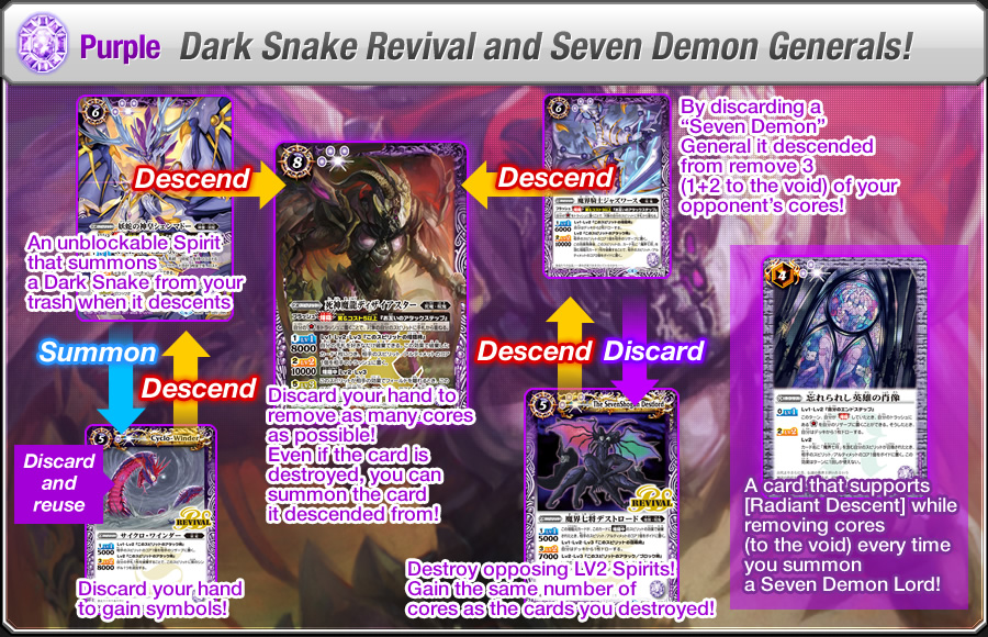 Purple Dark Snake Revival and Seven Demon Generals!
