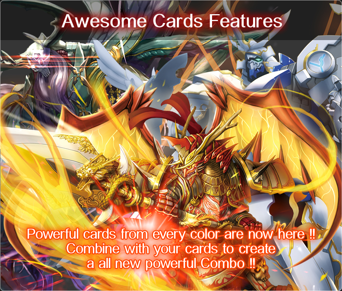 Awesome card features!