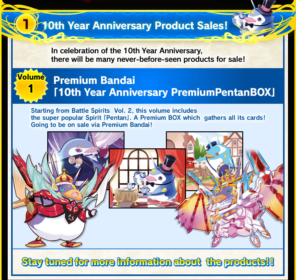 (1)10th Year Anniversary Product Sales!