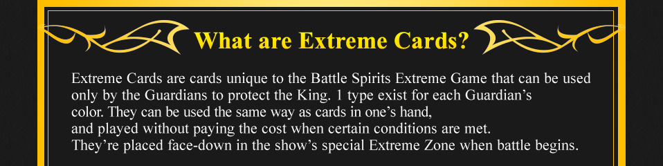 What are Extreme Cards?
