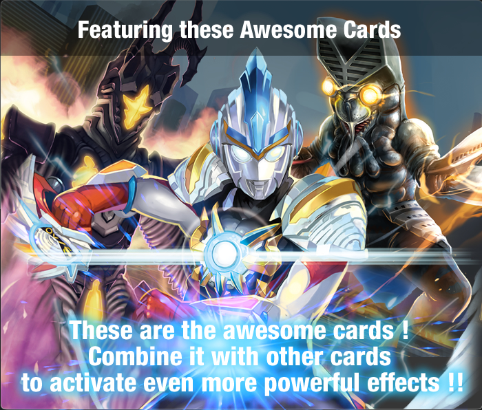 Featuring these Awesome Cards