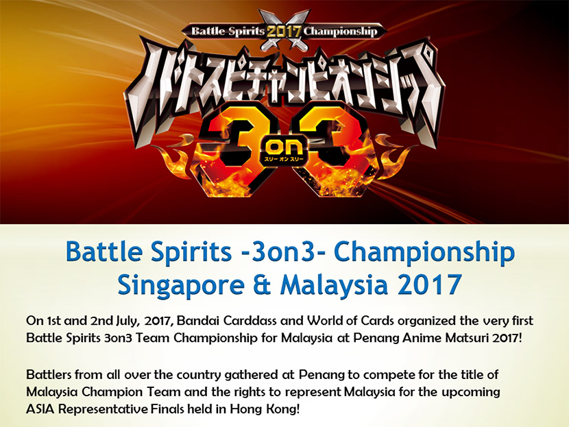 3 on 3 Singapore and Malaysia Report