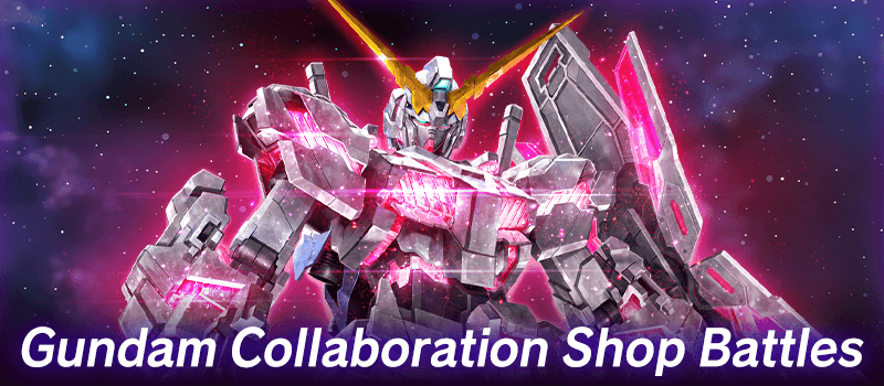 Gundam Collaboration Shop Battles
